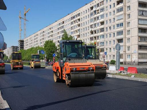 Укладка асфальта в Москве