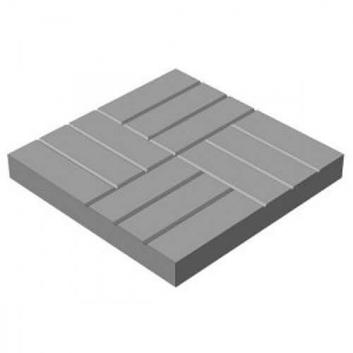 Плитка 12 кирпичей Размер: 500х500х50;