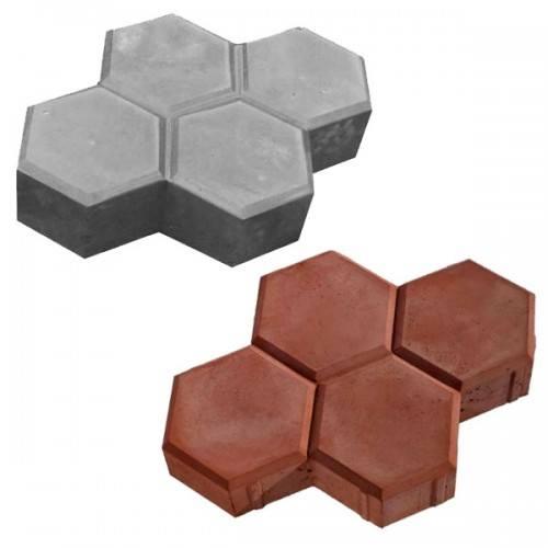 Плитка Соты Размер: 220х175х60;