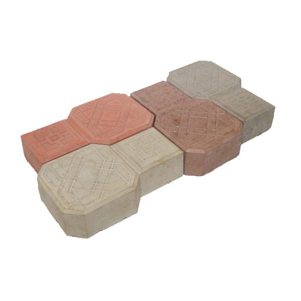 Плитка «Молоток рельефный» Размер: 225х136х60;